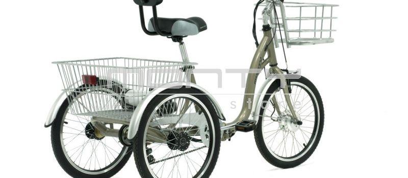 Optez pour un Tricycle électrique et vos déplacements se transformeront en promenade !