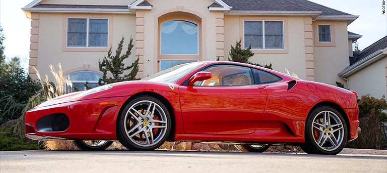 La Ferrari F430 de Donald Trump vendue à un prix record