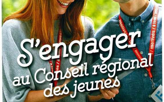 Conseil Régional des Jeunes - Candidature
