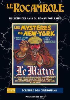 À propos du « Rocambole » N°78/79 consacré au « Cinéromans »