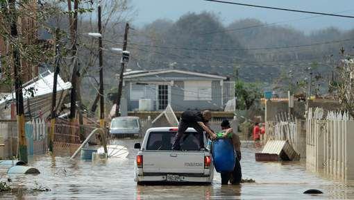 """ALERTE : Evacuations massives à Porto Rico après la rupture d'un barrage + Porto Rico """"anéantie"""", quatre à six mois sans électricité"""