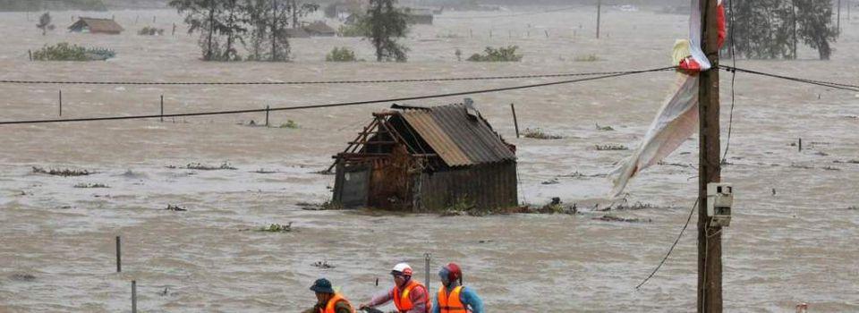 Vietnam : Le centre du pays dévasté par le typhon Doksuri