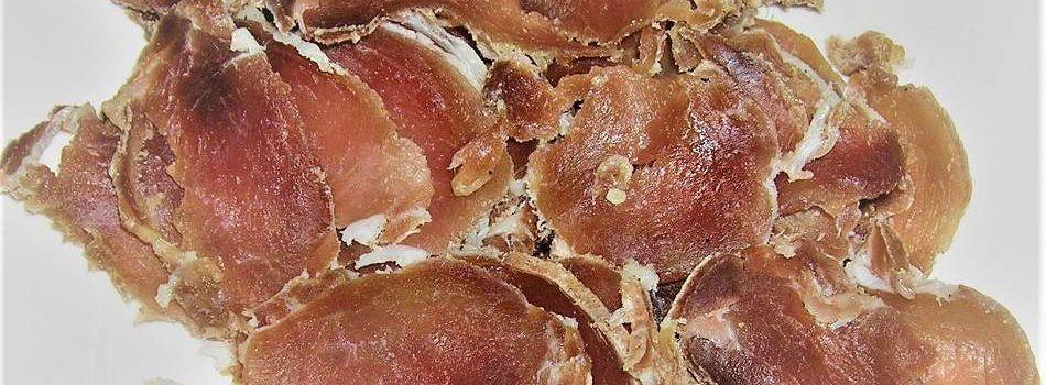 Filet pur porc sèché.