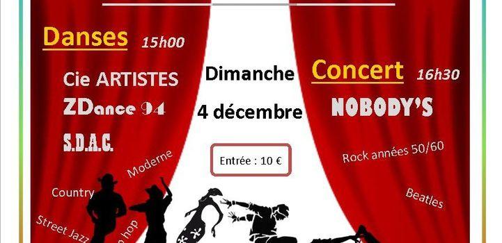 Spectacle Théâtre Abbaye - Dimanche 4 décembre