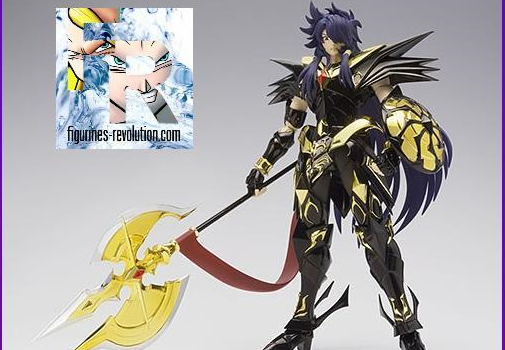 Figurines Revolution : Saint Seiya Myth Cloth EX soul of gold Loki Dark World