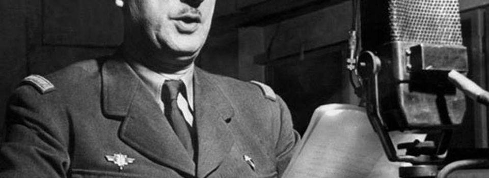 18 juin 1940 : 77ème Anniversaire de l'Appel du Général de Gaulle