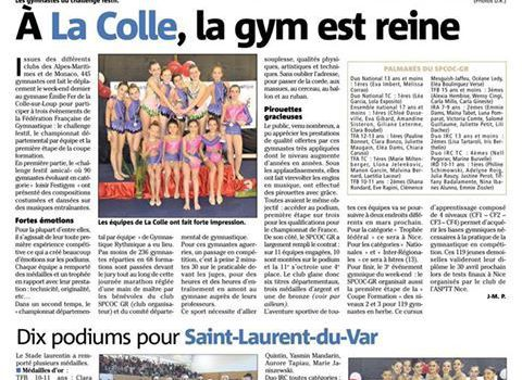 ARTICLE NICE MATIN DU 20/02/17