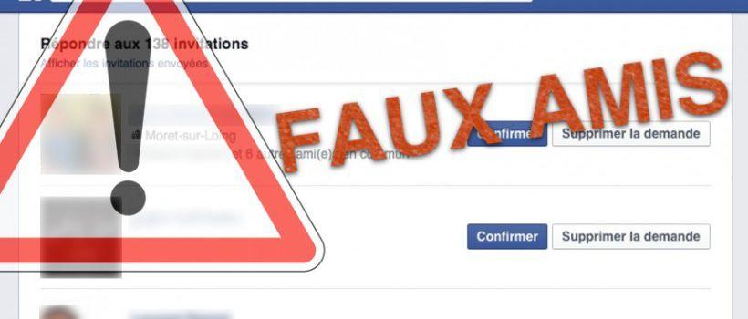 Des identités usurpées sur Facebook pour arnaquer des internautes