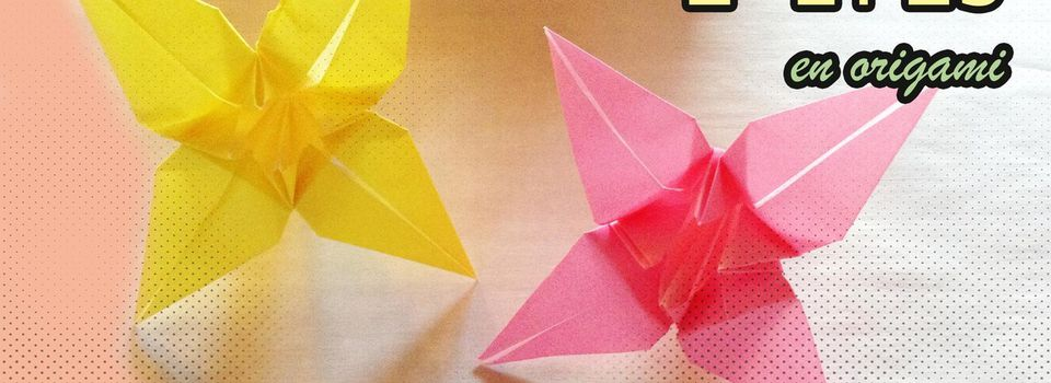 はな {hana} : L'Iris en version Origami