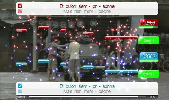 test du jeu Singstar