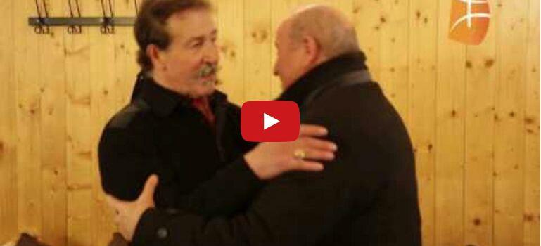 Vidéo : Issad  Rebrab au Zénith de Paris à la rencontre de Lounis Ait Menguellet. KDirect - Actualité