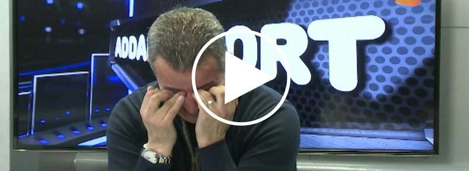 Vidéo : Moussa Saïb en larmes sur le plateau de Berbère Télévision. KDirect - Actualité