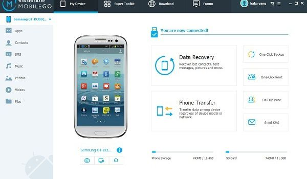 Step by step instructions to Recover Audio from Android Kitkat