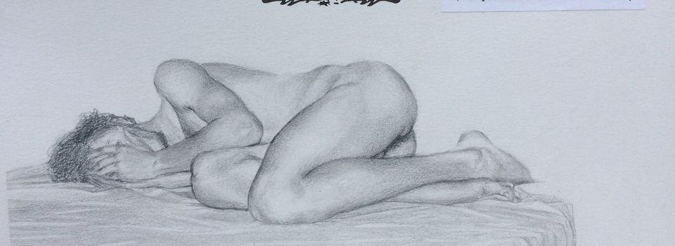 dessin d une femme nue humoristique