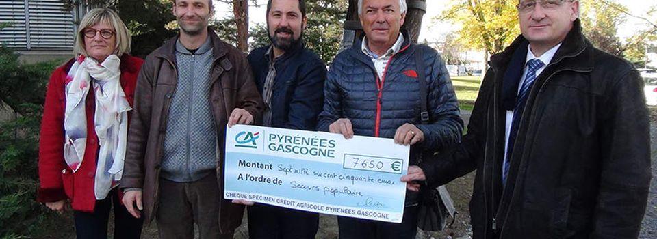 Les salariés du Crédit Agricole solidaires / Pyrénées Infos