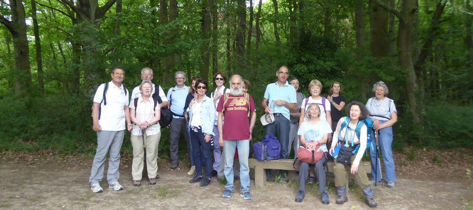 Randonnée de Courcelle à Gif-sur-Yvette - 16,5 km.