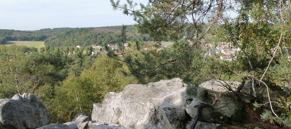 Randonnée en boucle de La Ferté-Alais -19 km.